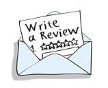 Easily invite customers to write a review
